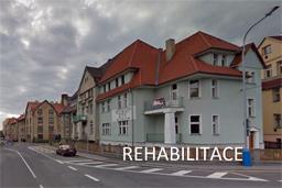 Rehabilitace Teplice - vstup do budovy